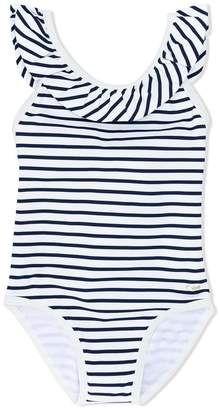 Chloé Kids striped swimsuit