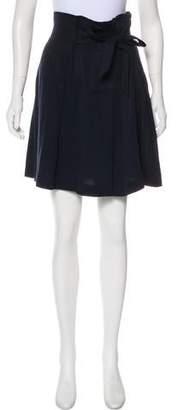 Reiss Pleated Knee-Length Skirt
