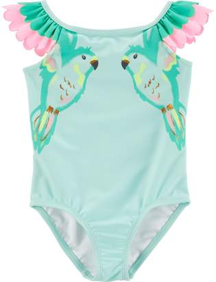 Carter's Toddler Girl Parrot One-Piece Swimsuit