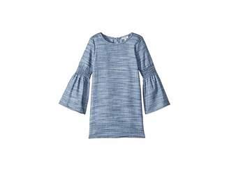 Splendid Littles Bell Sleeve Midi Dress (Little Kids)