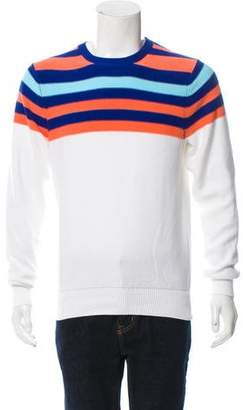 Brooks Brothers Striped Knit Sweater