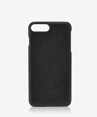 GiGi New York iPhone 7 Plus Hard-Shell Case, Black Pebble Grain