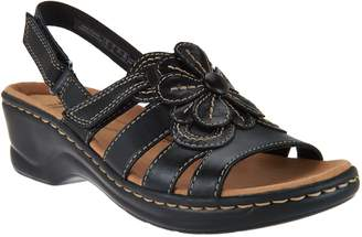 Clarks Leather Lightweight Sandals - Lexi Venice