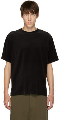 Saturdays NYC Black Elliot Velour T-Shirt