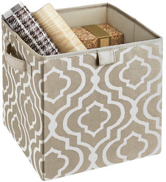 ClosetMaid Premium 2 Handle Storage Bin in Graystone