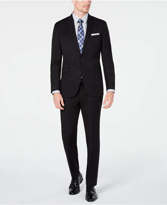 Kenneth Cole Unlisted Men Slim-Fit Black Solid Suit