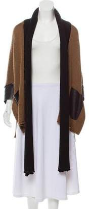 L'Agence Wool Open Front Cardigan
