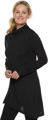 Apt. 9 Women's Asymmetrical Turtleneck Tunic