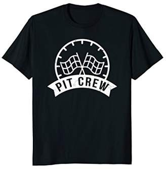 Pit Crew T-Shirt Race Car Birthday Party