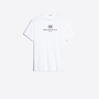 Balenciaga Oversize printed t-shirt
