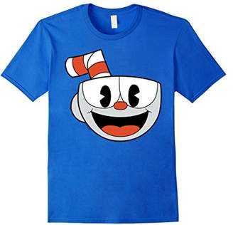 Cuphead Big Smiling Face Video Game Graphic T-Shirt