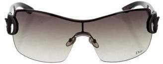 Christian Dior Rimless Shield Sunglasses