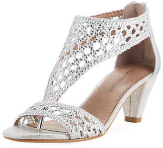Donald J Pliner Verna Woven Low Sandal