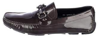 Salvatore Ferragamo Patent Leather Gancini Loafers Patent Leather Gancini Loafers