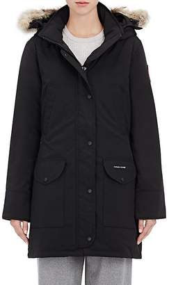Canada Goose Women's Trillium Down-Quilted Fur-Trimmed Parka $895 thestylecure.com