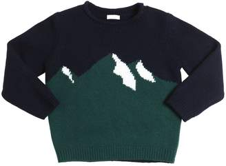 Il Gufo Mountains Intarsia Wool Sweater