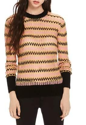 Scotch & Soda Chevron Stripe Sweater