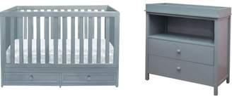 AFG International Furniture Marilyn 3-in-1 Convertible 2 Piece Crib Set