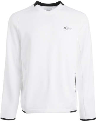 Greg Norman Attack Life by Men's Herringbone Sweater, Created for Macy's