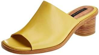Neosens Women's S972 Restored Skin Tintilla Clogs, Beige (Wood)
