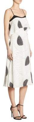 LK Bennett Ophelia Popover Silk Dress