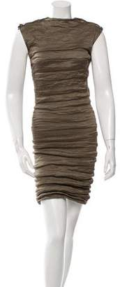 Lanvin Ruched Mini Dress