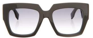 Fendi Gradient Colorblock Sunglasses