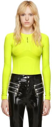 Unravel Yellow Seamless Bodysuit