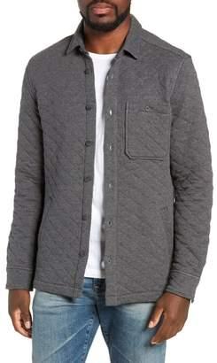 Jeremiah Cameron Regular Fit Quilted Shirt Jacket