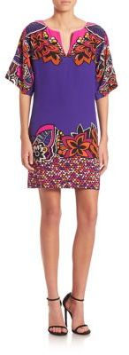 Trina Turk Printed Carnival Dress $328 thestylecure.com