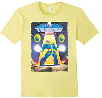 Marvel The THANOS Quest Vintage Comic Cover Graphic T-Shirt