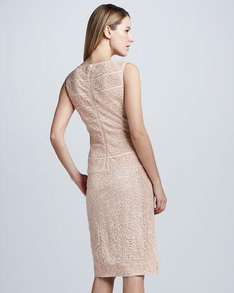 Tadashi Shoji Sleeveless Lace Cocktail Dress