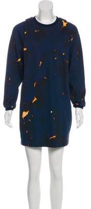 3.1 Phillip Lim Printed Sweater Dress