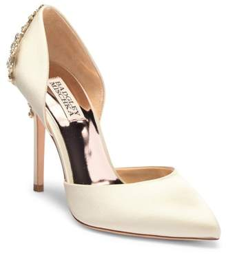 Badgley Mischka Karma Embellished Pump