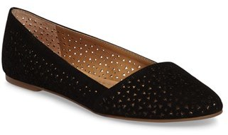 Women's Lucky Brand Archh2 Perforated Flat $78.95 thestylecure.com