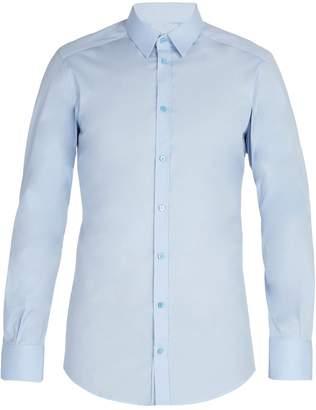 Dolce & Gabbana Johnny cotton-blend poplin shirt