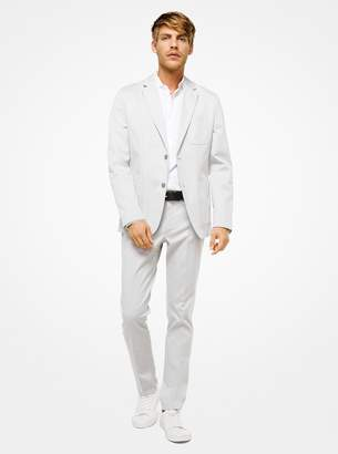 Michael Kors Stretch-Cotton Blazer
