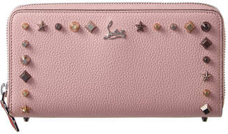 Christian Louboutin Panettone Leather Zip Around Wallet