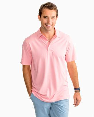 Southern Tide Driver Heathered Performance Polo