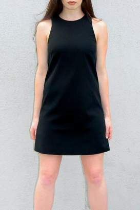 4.collective Solid Crepe Dress