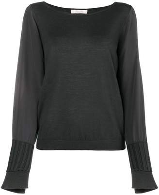 Schumacher Dorothee ribbed cuff sweater