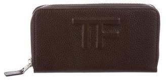 Tom Ford Leather Continental Wallet w/ Tags