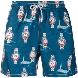 Shark Time swim shorts