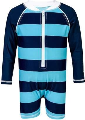 Snapper Rock Toddler Rugby Stripe Sunsuit