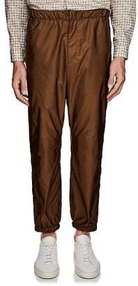 Prada Men's Side-Stripe Nylon Pants