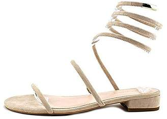 AVEC LES FILLES Womens Caila Open Toe Casual Ankle