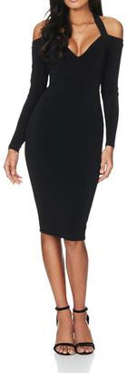 Nookie Jewels Long Sleeve Dress $184 thestylecure.com