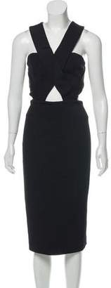 Nicholas Cutout Midi Dress w/ Tags