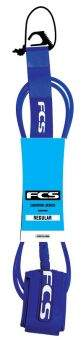 7 REGULAR 7mm Leash blue glass
