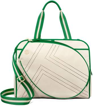 At Tory Burch Sport Convertible Perforated T Tennis Tote